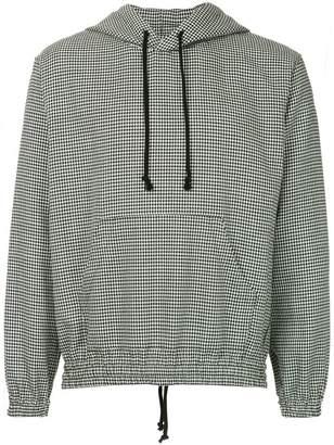Undercover houndstooth print hoodie
