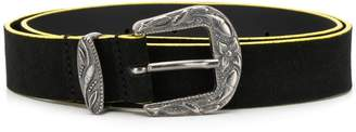 Diesel engraved buckle belt