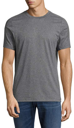 Perry Ellis Intarsia Crewneck T-Shirt