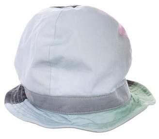 Y-3 Colorblock Logo-Accented Bucket Hat