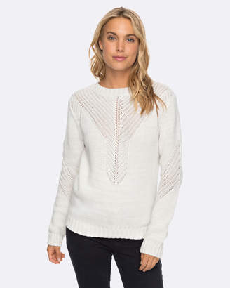 Roxy Womens Take Over The World Knit Jumper