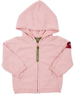 Amber Hagen Infants' Heart Daddy Hoodie-Pink
