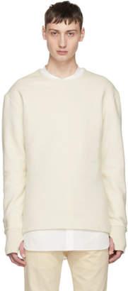 BEIGE Hed Mayner Crewneck Sweatshirt