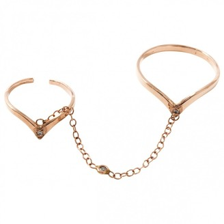 Jacquie Aiche Pink Pink gold Ring