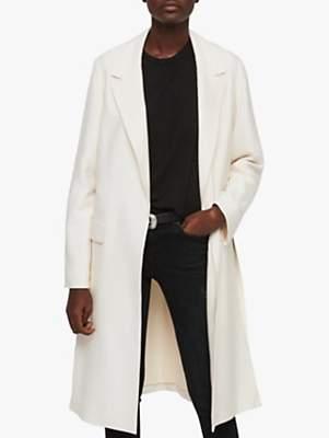 AllSaints Aleida Duster Coat, Ecru White