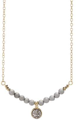 Melrose and Market Druzy Bead & Pendant Necklace