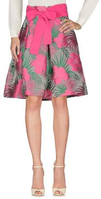 Vdp Collection Knee length skirt
