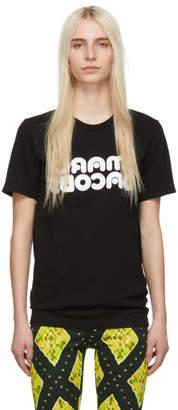 Marc Jacobs (マーク ジェイコブス) - Marc Jacobs Redux Grunge コレクション ブラック Backwards T シャツ