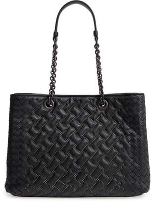 Bottega Veneta Medium Studded Leather Tote Bag