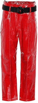 Petar Petrov Hollis patent leather pants