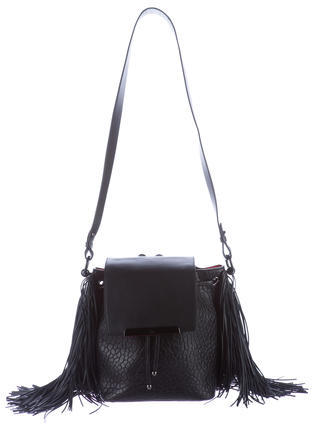 Christian Louboutin  Christian Louboutin Lucky Fringe Bucket Bag
