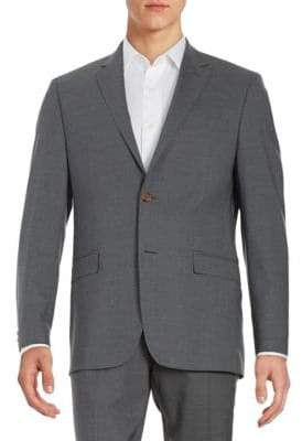 Lauren Ralph Lauren Two-Button Wool Jacket