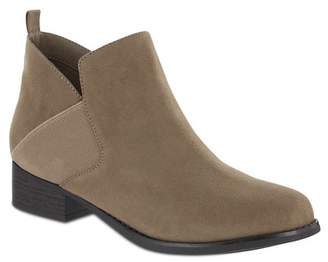 MIA AMORE Lourie Stacked Heel Boot - Wide Width
