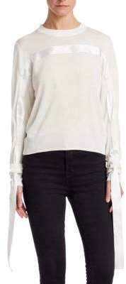 Noir Kei Ninomiya Ribbon Sweater