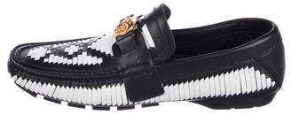 Versace Medusa Driving Loafers w/ Tags