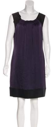 Alberta Ferretti Silk Shift Dress