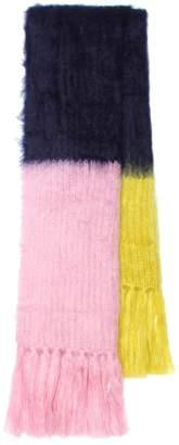 Burberry Mohair and silk scarf
