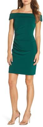 Vince Camuto Off the Shoulder Sheath Dress
