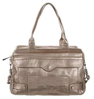 Rebecca Minkoff Metallic Leather Shoulder Bag