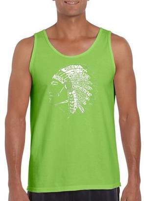 Pop Culture Men's tank top - popular native american indian tribes