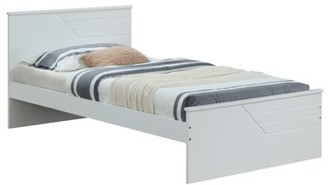 ACME Furniture ACME Ragna Wooden Panel Platform Bed in Twin Size and White Finish