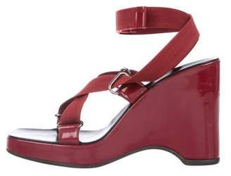 b33893ade Gucci Red Ankle Strap Women's Sandals - ShopStyle