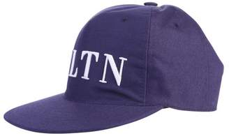 Valentino Blue Branded Baseball Hat