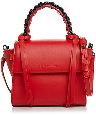 Elena Ghisellini Angel Sensua Mini Top Handle Leather Handbag