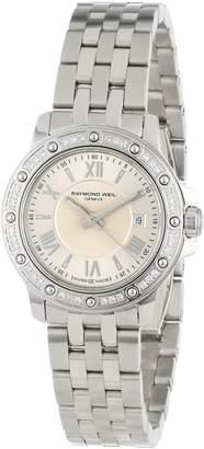 "Raymond Weil Women's 5399-STS-00657 ""Tango"" Stainless Steel Diamond-Bezel Dress Watch"