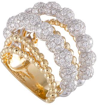 Odelia 18K Two-Tone 3.90 Ct. Tw. Diamond Ring