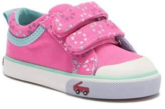 See Kai Run Robyne Hot Pink Circle Sneaker (Toddler & Little Kid)