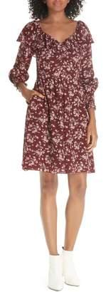 Rebecca Taylor Tilda Silk Ruffle Dress