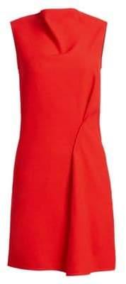 Victoria Beckham Side Drape Boatneck Tunic