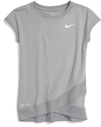 Girl's Nike Sport Essentials Dri-Fit Tee $30 thestylecure.com
