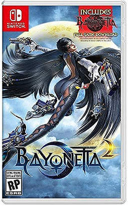 Nintendo Switch Bayonetta 2 and Bayonetta
