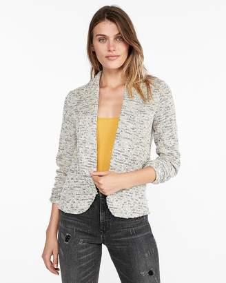Express Tweed Knit Blazer