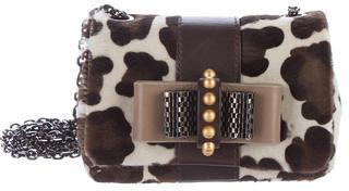 Christian Louboutin Christian Louboutin Leopard Ponyhair Sweet Charity Bag