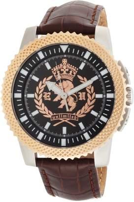 Ecko Unlimited Men's The Collegiate 3-Hand Movement Dial Watch E11596G1