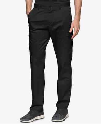 Calvin Klein Men's Slim-Fit Stretch Tech Cargo Pants $89.50 thestylecure.com
