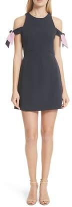 Milly Madison Cold Shoulder Minidress
