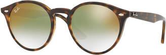 Ray-Ban Round Mirrored Iridescent Sunglasses