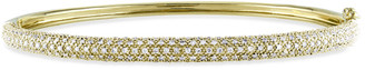 Diamond Select Cuts 14K Yellow Gold 0.87 Ct. Tw. Diamond Bangle