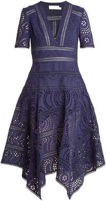 Zimmermann Paradiso broderie-anglaise cotton dress