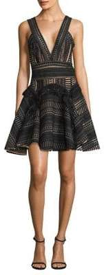 Thurley Halley's Comet Fit-&-Flare Dress
