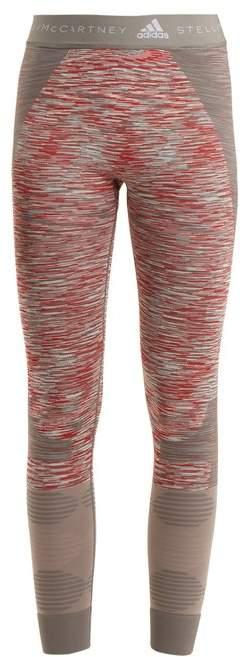 Yoga seamless space-dye performance leggings