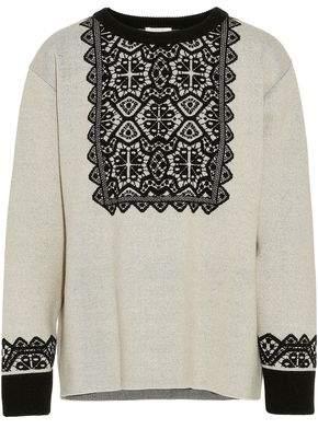Chloé Intarsia Wool Sweater