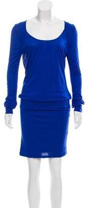 Reiss Long Sleeve Midi Dress