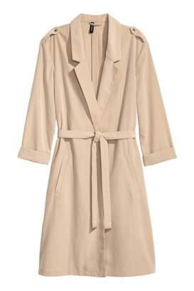 H&M Lightweight Trenchcoat - Beige - Women