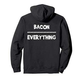 Keto Hoodie Bacon Over Everthing Funny Keto Life