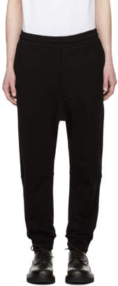 McQ Black Swallow Recycled Trackpants